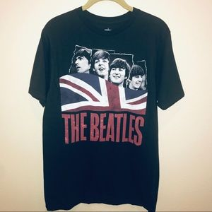The Beatles | British Flag Graphic Band Tee